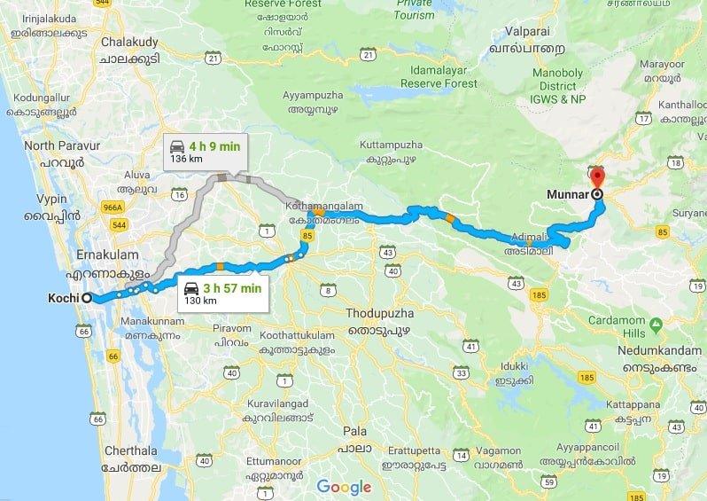 cochin-to-munnar Cochin to Munnar
