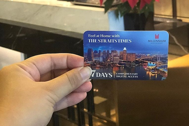 complimentary-access-to-st-for-millennium-hotels-and-resorts-guests Complimentary access to ST for Millennium Hotels and Resorts guests