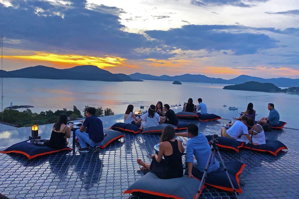 Every sunset in Phuket deserves to be paired with a cocktail
