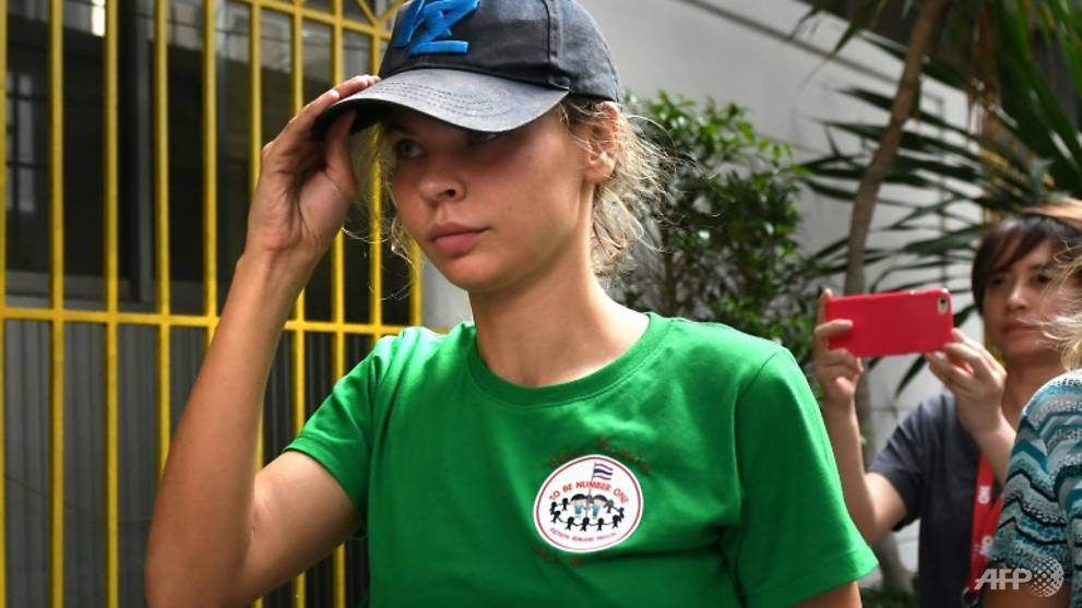 model-claiming-trump-secrets-deported-from-thailand-channel-newsasia Model claiming Trump secrets deported from Thailand - Channel NewsAsia