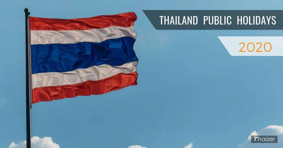public-holidays-in-thailand-2020 Public Holidays in Thailand, 2020