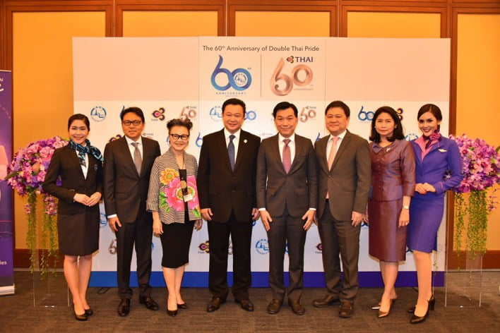tat-joins-forces-with-thai-to-promote-60th-anniversary-promotions TAT joins forces with THAI to promote 60th anniversary promotions