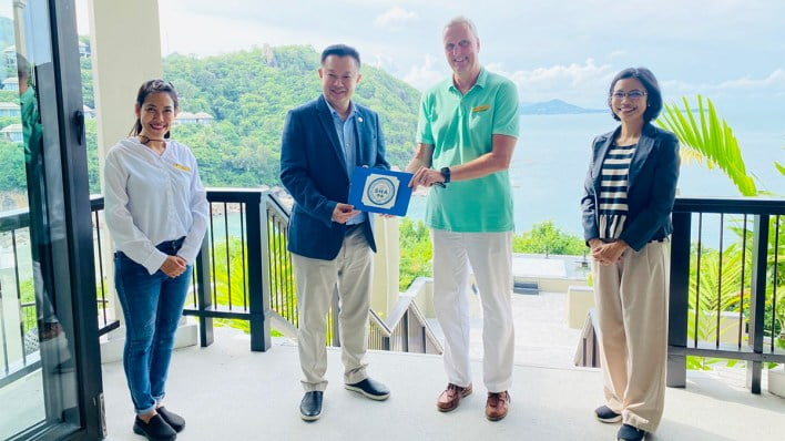 Two resorts on Ko Samui awarded Amazing Thailand SHA certificate