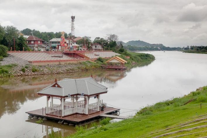 the-chao-phraya-river-begins-in-nakhon-sawan-and-its-beautiful The Chao Phraya River begins in Nakhon Sawan and it's beautiful