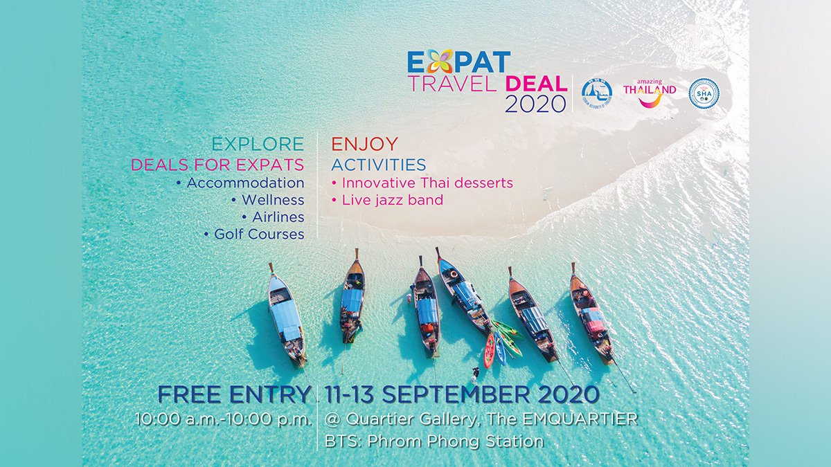 tat-highlights-travel-promotions-for-expats-in-thailand TAT highlights travel promotions for expats in Thailand